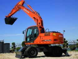 Excavatorul hidraulic Doosan DX170W