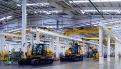 JCB - cea mai mare fabrica de excavatoare din Europa