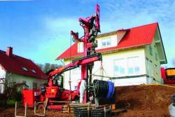 Instalatii de foraj pentru captarea energiei geotermale prin firmele grupului Bauer