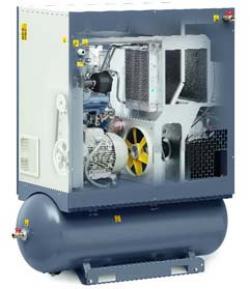 Performante sporite pentru gama mică de compresoare elicoidale cu injectie de ulei