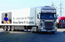 Noul camion Scania R în România!