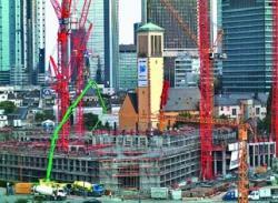 Pompele de beton Putzmeister construiesc Tower 185