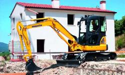 Mini excavatorul PC55MR-3 - mai performant, mai productiv