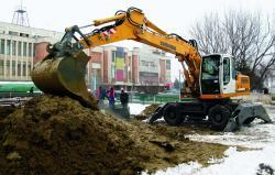 Liebherr lucreaza pentru metroul din Bucuresti