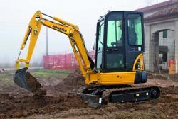 Un nou mini excavator de top de la Komatsu