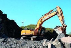 Excavatorul CX700B - un gigant elegant