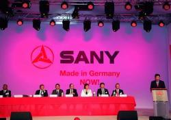 Sany a deschis un parc industrial în Germania