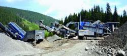 Utilajele Kleemann ajuta la modernizarea DN67-C - Transalpina