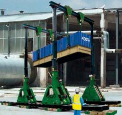 Un nou portal hidraulic pentru Holleman