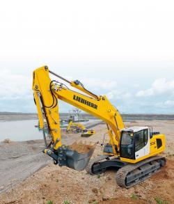 Noul excavator Liebherr R936