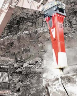 Sandvik Construction relansează ciocanele hidraulice Rammer