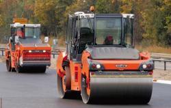 Compactare omogenă cu HCQ Premium Navigator de la Hamm pe autostrada A61-Germania